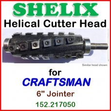 SHELIX for CRAFTSMAN (Sears) 6'' Jointer, 152.217050