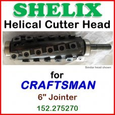 SHELIX for CRAFTSMAN (Sears) 6'' Jointer, 152.275270
