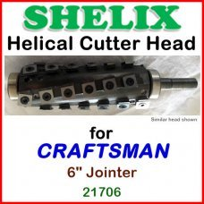 SHELIX for CRAFTSMAN (Sears) 6'' Jointer, 21706