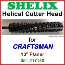 SHELIX for CRAFTSMAN (Sears) 13'' Planer, 351.217130