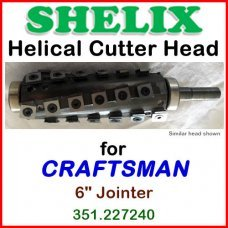 SHELIX for CRAFTSMAN (Sears) 6'' Jointer, 351.227240
