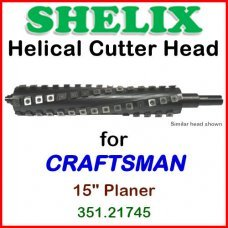 SHELIX for CRAFTSMAN (Sears) 15'' Planer, Model 351.21745