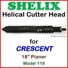 SHELIX for CRESCENT 18'' Planer, Model 118