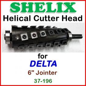 SHELIX for DELTA 6'' Jointer, 37-196