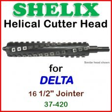 SHELIX for DELTA 16.5'' Jointer, 37-420