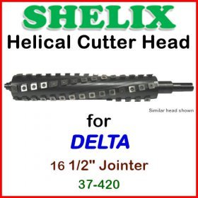 SHELIX for DELTA 16.5'' Jointer, 37-420