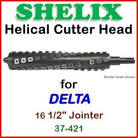 SHELIX for DELTA 16.5'' Jointer, 37-421