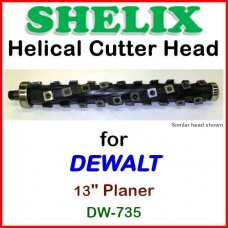 SHELIX for DEWALT 13'' Planer, DW-735