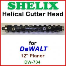 SHELIX for DEWALT 12.5'' Planer, DW-734