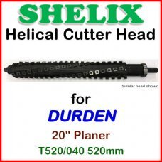 SHELIX for DURDEN 20'' Planer, T520-040 520mm