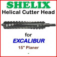 SHELIX for EXCALIBUR 15'' Planer