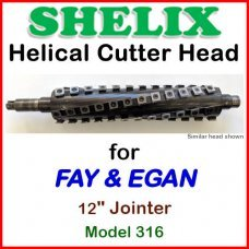 SHELIX for FAY & EGAN 12'' Jointer, Model 316
