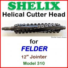 SHELIX for FELDER 12'' Jointer, Model 310