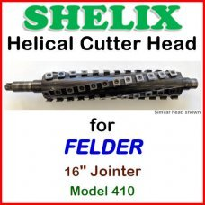 SHELIX for FELDER 16'' Jointer, Model 410