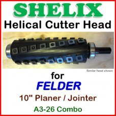 SHELIX for FELDER 10'' Planer, A3-26 COMBO
