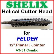 SHELIX for FELDER 12'' Planer, A3-31 COMBO
