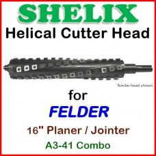 SHELIX for FELDER 16'' Planer, A3-41 COMBO