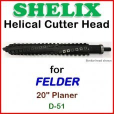 SHELIX for FELDER 20'' Planer, D-51