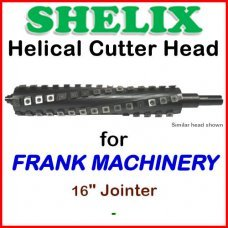 SHELIX for FRANK MACHINERY 16'' Jointer