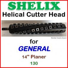 SHELIX for GENERAL 14'' Planer, 130