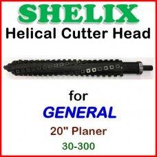 SHELIX for GENERAL 20'' Planer, 30-300