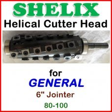 SHELIX for GENERAL 6'' Jointer, 80-100