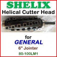 SHELIX for GENERAL 6'' Jointer, 80-100LM1