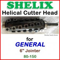 SHELIX for GENERAL 6'' Jointer, 80-150