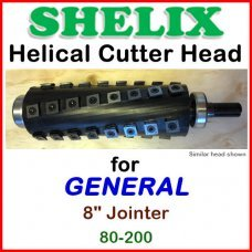 SHELIX for GENERAL 8'' Jointer, 80-200