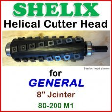 SHELIX for GENERAL 8'' Jointer, 80-200 M1
