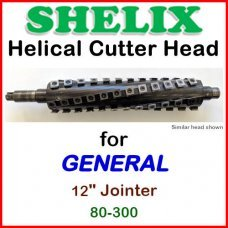 SHELIX for GENERAL 12'' Jointer, 80-300