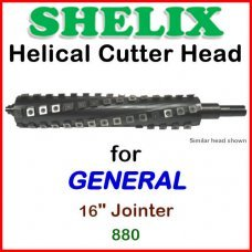 SHELIX for GENERAL 16'' Jointer, 880
