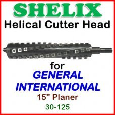 SHELIX for GENERAL INTERNATIONAL 15'' Planer, 30-125