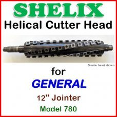 SHELIX for GENERAL 12'' Jointer, Model 780