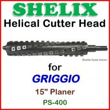 SHELIX for GRIGGIO 15'' Planer, PS-400