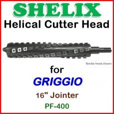 SHELIX for GRIGGIO 16'' Jointer, PF-400