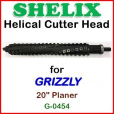 SHELIX for GRIZZLY 20'' Planer, G0454