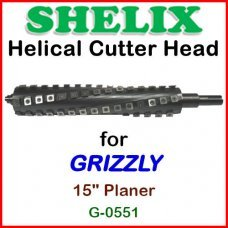 SHELIX for GRIZZLY 15'' Planer, G0551