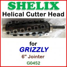 SHELIX for GRIZZLY 6'' Jointer, G0452