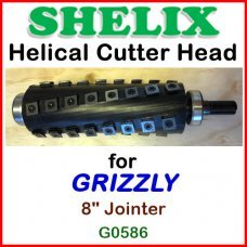 SHELIX for GRIZZLY 8'' Jointer, G0586