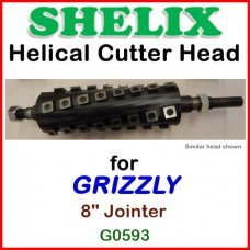 SHELIX for GRIZZLY 8'' Jointer, G0593