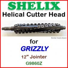 SHELIX for GRIZZLY 12'' Jointer, G9860Z