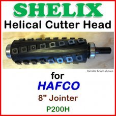 SHELIX for HAFCO 8'' Jointer, P200H