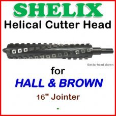 SHELIX for HALL & BROWN 16'' Jointer
