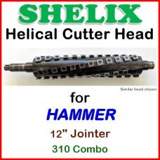 SHELIX for HAMMER 12'' Planer, 310 COMBO