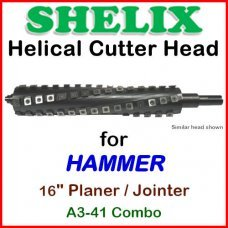 SHELIX for HAMMER 16'' Planer, A3-41 COMBO