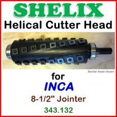 SHELIX for INCA 8-1/2'' Jointer, 343.132