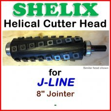 SHELIX for J-LINE 8'' Jointer