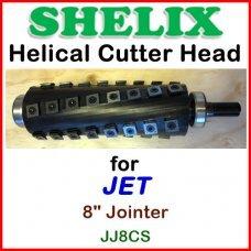 SHELIX for JET 8'' Jointer, JJ-8CS