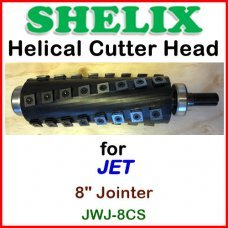 SHELIX for JET 8'' Jointer, JWJ-8CS